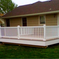 custom deck wichita home
