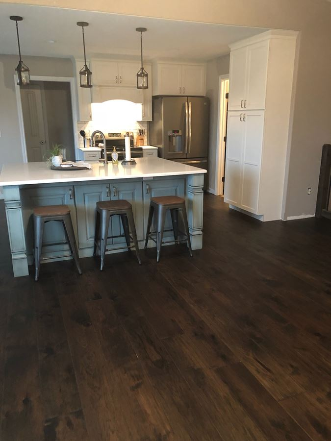 Open Kitchen And New Wet Bar In West Wichita Ks Blue Ribbon Construction